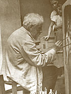 Bouguereau at Work